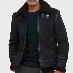 H&M Faux Jacket
